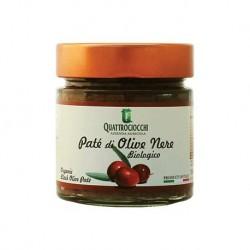 Paté di Olive Nere Biologico - Quattrociocchi