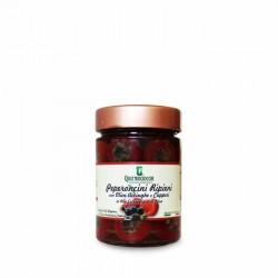 Peperoncini ripieni con Olive Acciughe e Capperi - Quattrociocchi