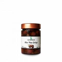 Olive nere grinze - Quattrociocchi - 330g
