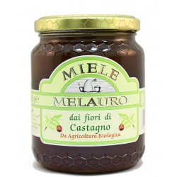 Miele di Castagno Biologico - Melauro - 500 g