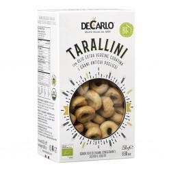 Tarallini con olio Coratina e Grani antichi pugliesi - De Carlo - 250 g