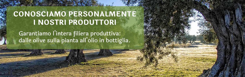 Vasta Scelta di Oli Extravergine di Oliva dei migliori produttori d'Italia!